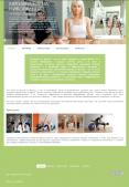Адаптивный сайт фитнес тренера